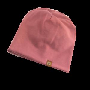 Altrosa Mütze