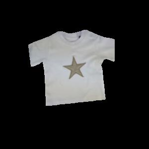 T-Shirt Musselin Stern